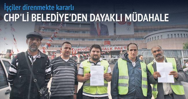 CHP'li belediyede açlık grevi 5'inci gününe girdi