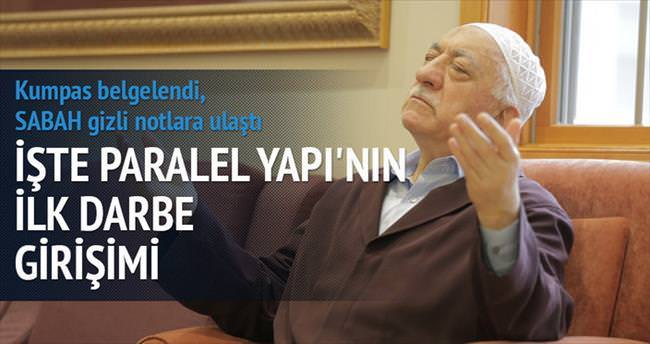 Gülen'in GDO'lu kumpasına darbe