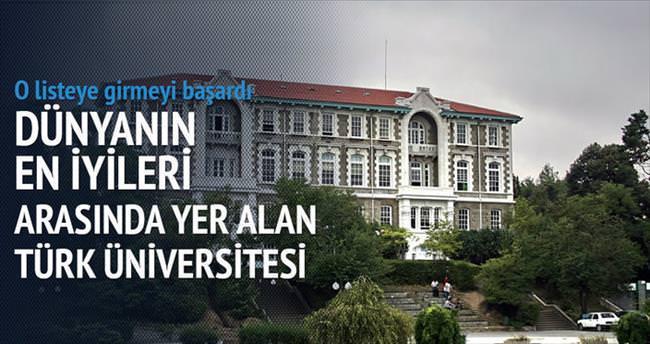 Türk üniversiteleri en iyiler listesinde
