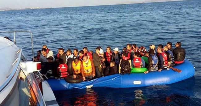 Ege Denizi'nde 428 kaçak kurtarıldı