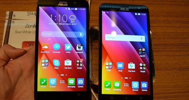 Asus'tan iki yeni ZenFone 2 telefon daha!