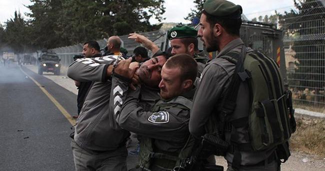 İsrail güçleri yine saldırdı; 7 yaralı