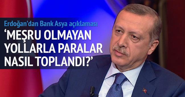 Erdoğan'dan Bank Asya açıklaması