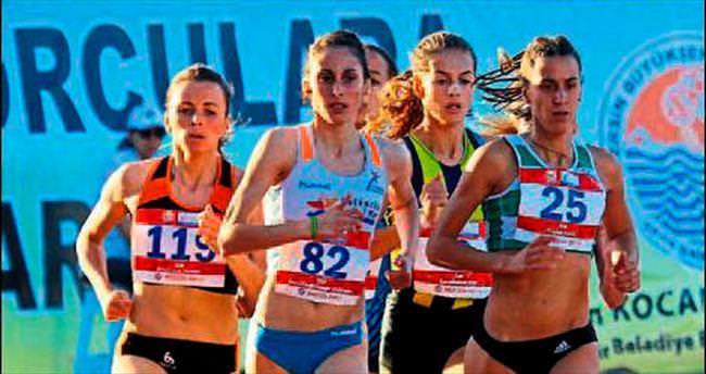 Olimpiyat tadında yarıştılar