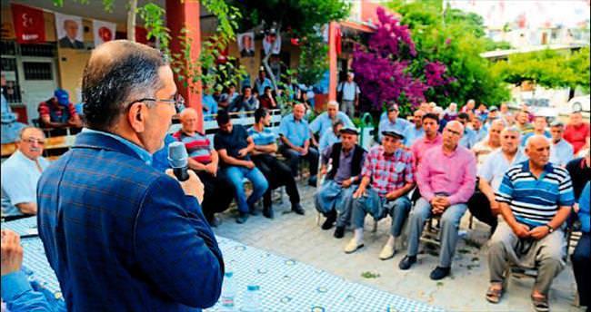 Mahmut Çelikcan seçim turuna çıktı