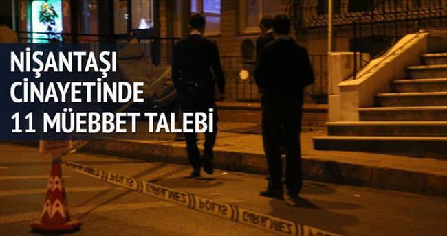 Şahin suikastında 11 müebbet talebi