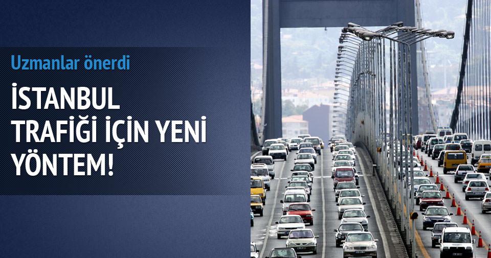 İstanbul trafiği için park et devam et önerisi