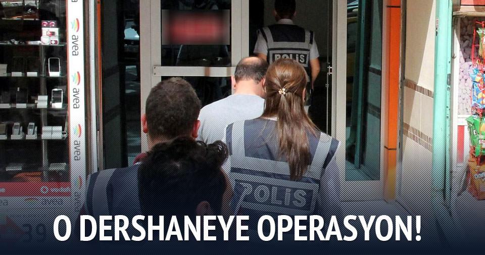 Elazığ'da 2 dershaneye operasyon