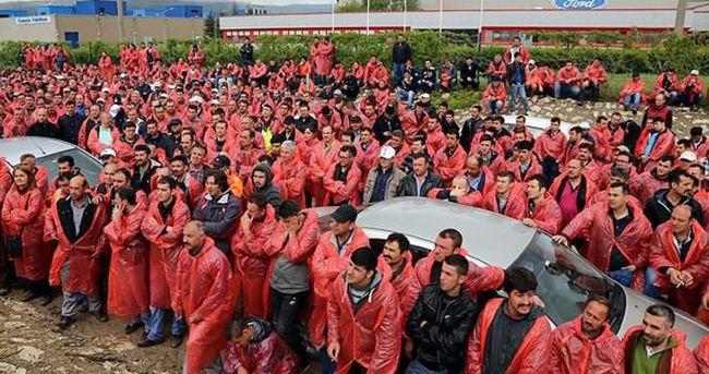 Ford Otosan'da işçilerin eylemi sona erdi