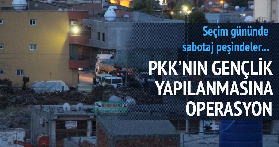 PKK'ya seçim operasyonu