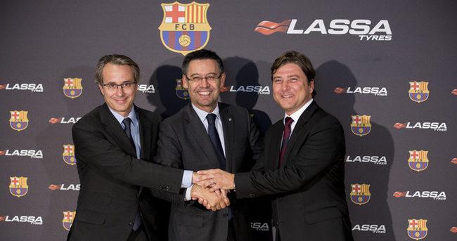 Lassa, Barcelona'ya sponsor oldu