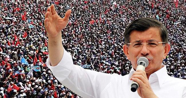 Başbakan Davutoğlu Pendik'te konuştu