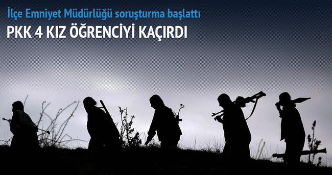 PKK yine yaptı yapacağını: 4 kız çocuğu...
