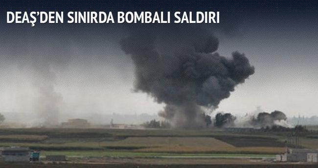DEAŞ'den sınırda bombalı saldırı