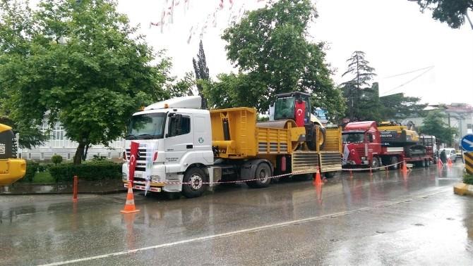 Akyazı Belediyesi Araç Filosu Güçlendi