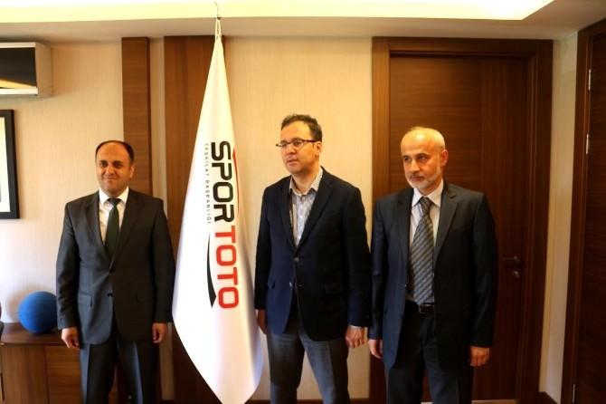 Beyşehir'e Spor Toto'dan 1 Milyon Liralık Destek