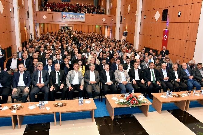 Memur-sen Onursal Genel Başkanı Ahmet Gündoğdu Gümüşhane'de