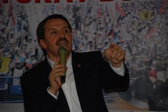 Memur-sen Genel Başkanı Yalçın, Tokat'ta