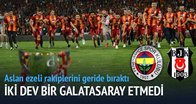 F.Bahçe+Beşiktaş=Galatasaray!