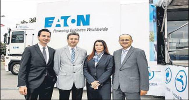 Eaton'ın teknoloji TIR'ı Türkiye'de