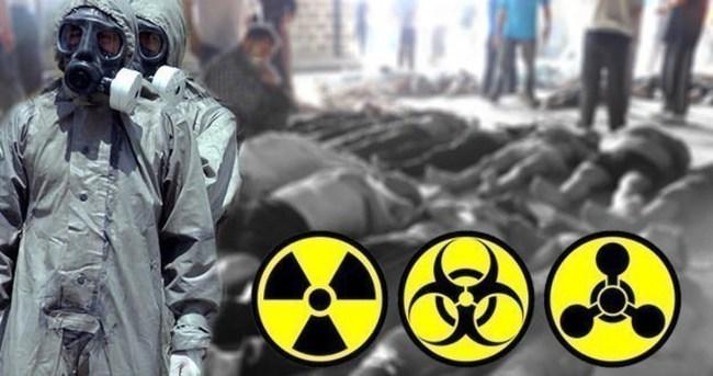 Esed rejimine kimyasal silah suçlaması