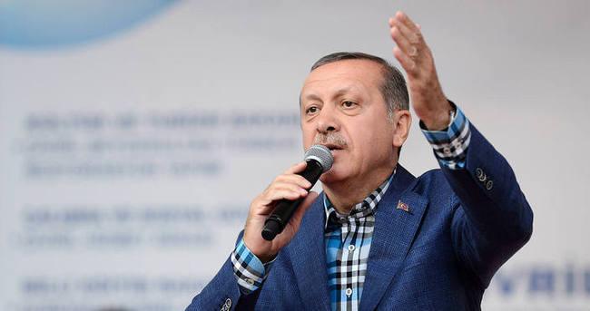 Erdoğan'dan tepki: Neden duruyorsun hemen aç
