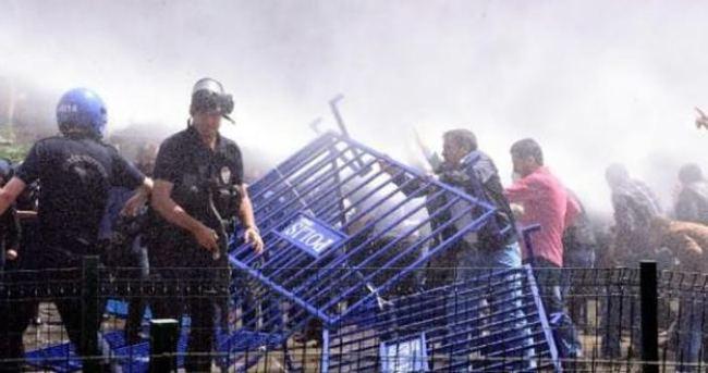 HDP'nin mitinginde gerginlik çıktı!