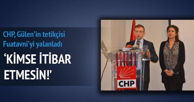 CHP İstanbul'dan Fuat Avni'nin iddiaları için açıklama