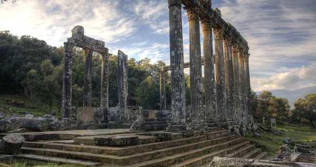 Euromos Antik Kenti kazı evine kavuşuyor