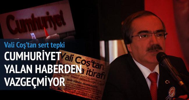 'Cumhuriyet Gazetesindeki iddialar gerçek dışıdır'