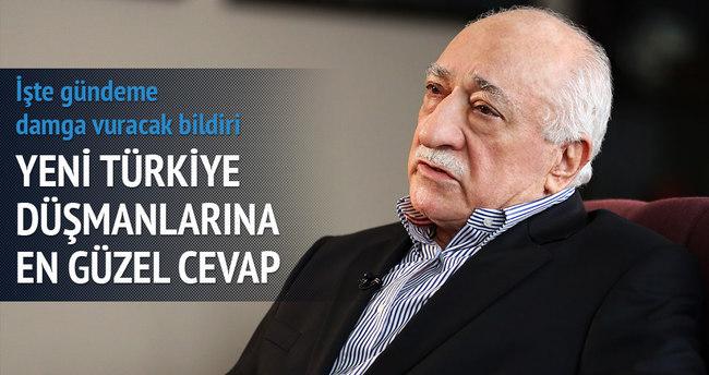 Yeni Türkiye düşmanlarına en güzel cevap