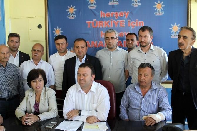 AK Parti İl Başkanı Can, Meclisteki Gergin Anları Değerlendirdi