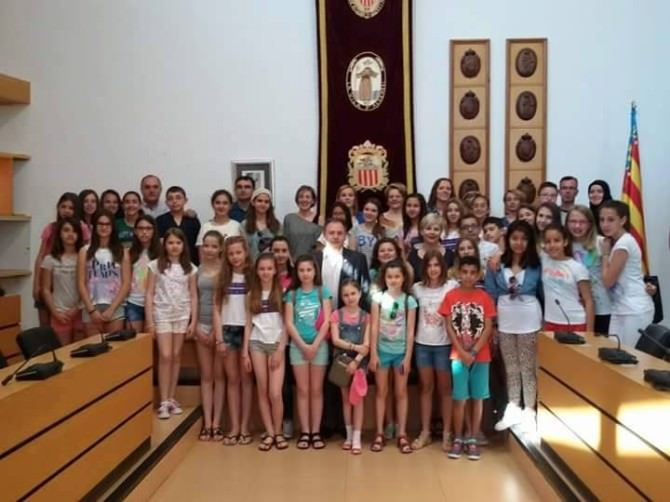 Ashaboğlu Okulu Öğrencileri İspanya'yı Ziyaret Etti