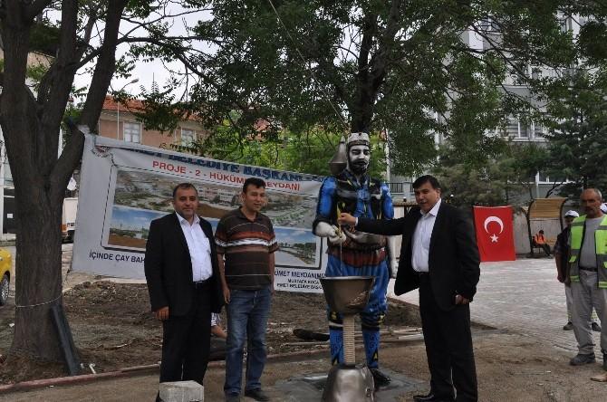 Emet Meydanı'na Efe Çeşmesi