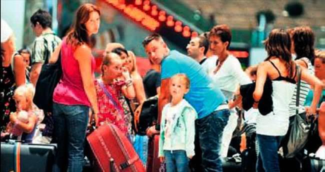 Gelen turist sayısı 3 milyona dayandı