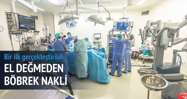 Türkiye'de ilk 'robotik' böbrek nakli