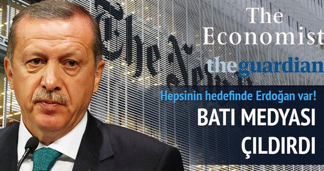 Hepsinin hedefinde Erdoğan var!