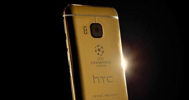 HTC'den Şampiyonlar Ligi'ne özel altın One M9