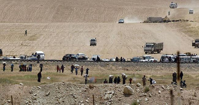 Türkiye-Suriye sınırında mülteci krizi