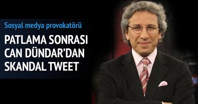 Can Dündar'dan skandal tweet