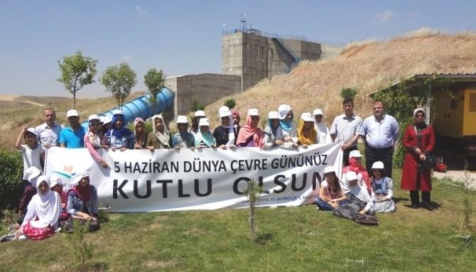Öğrencilere Hidroelektrik Santrali Gezisi
