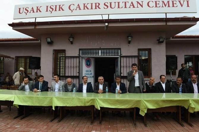 Uşak Alevi Kültür Derneği Üyeleri AK Parti İçin 'Evet' Dedi
