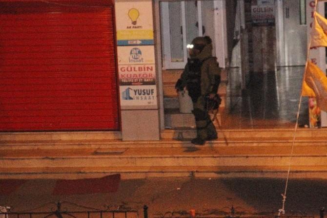 Kdz. Ereğli AK Parti Binasında Şüpheli Paket Paniği
