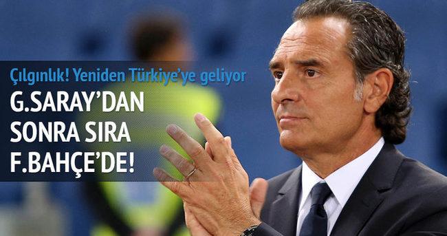 Cesare Prandelli, Fenerbahçe'ye geliyor...