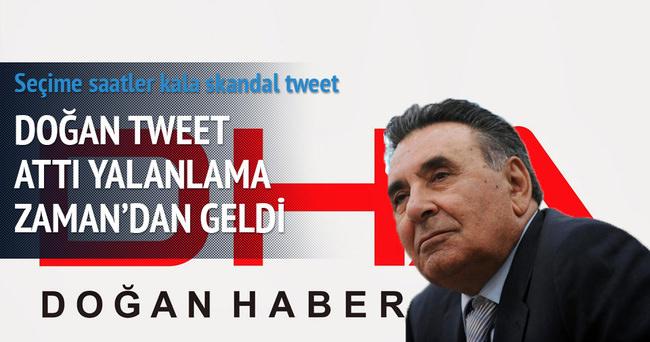 DHA'dan skandal tweet