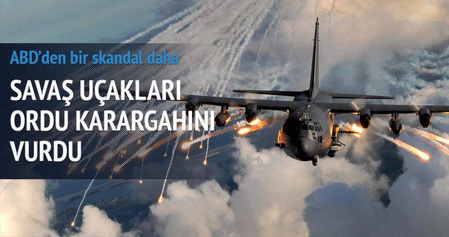 ABD uçakları yanlışlıkla Irak ordusunu vurdu