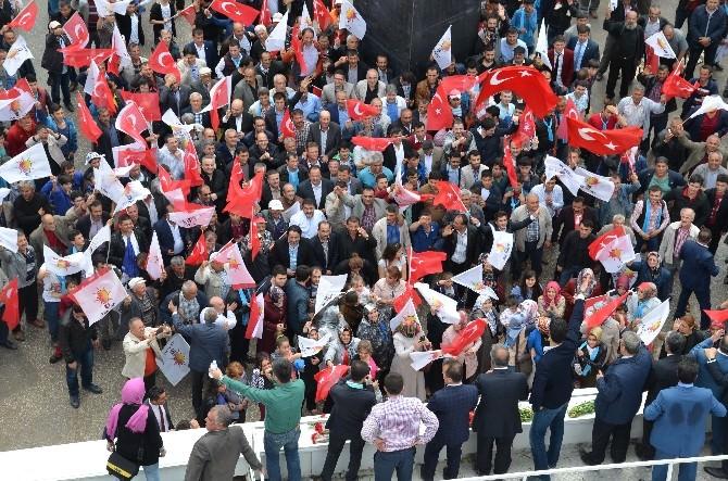AK Parti Çankırı'da Gövde Gösterisi Yaptı