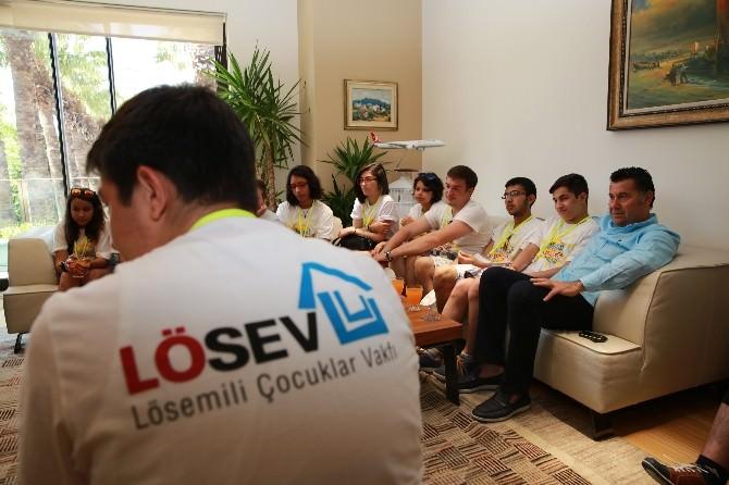LÖSEV'den Başkan Kocadon'a Ziyaret
