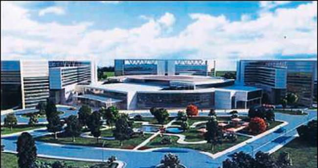 Şehir Hastanesi'ne üç ay içinde başlanıyor