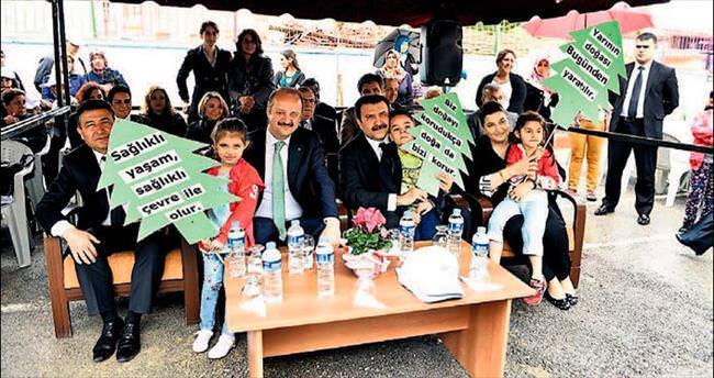 Mamaklı çocuklar Çevre Günü'nü kutladı